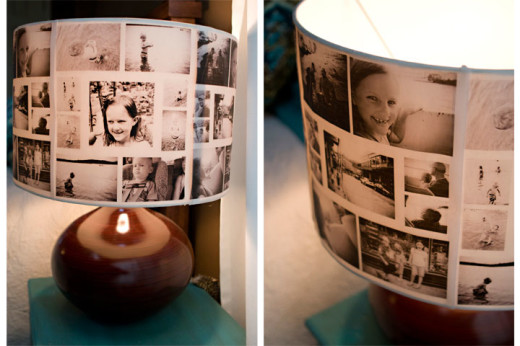 Diy photo lampshades | From ashleyannphotography