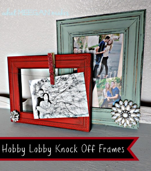 Hobby Lobby Knock-Off Frames | From What Meegan Makes