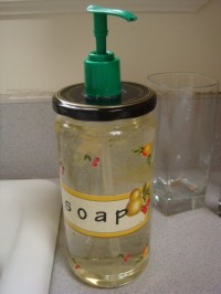 How to Upcycle a Glass Jar into a Soap Dispenser | DIY From ecokaren