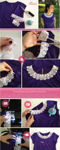 DIY A CUTE T SHIRT   From Join the Mood