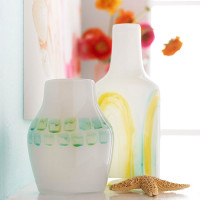 Watercolor-Painted Vases   Mother's Day Gift Ideas