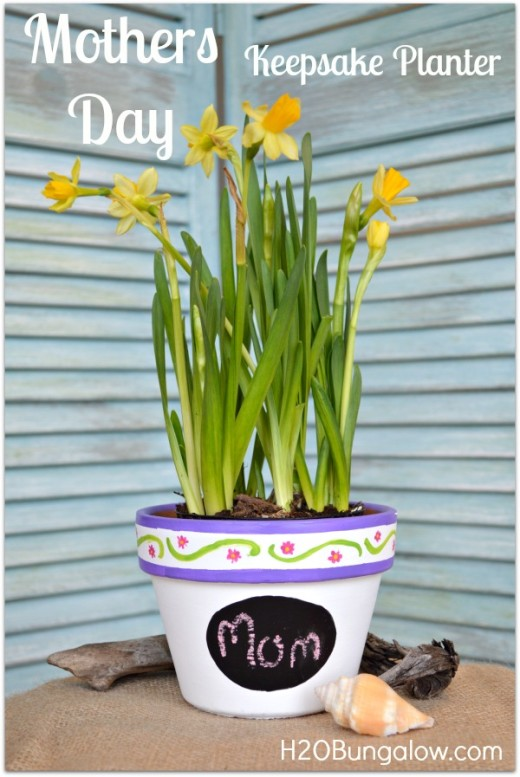 Mothers Day Planter Gift | From H20 Bungalow