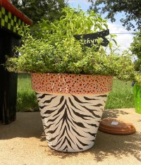 Painted Clay Pots by GranArt :: Hometalk
