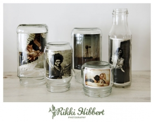 Recycle Reuse & Repurpose – Glass Jar Photo Frames