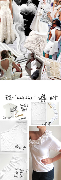 Ruffle Shirt | From P.S. – I Made This…