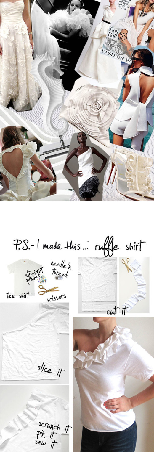 Ruffle Shirt   From P.S. – I Made This…