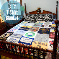 Reuse it, make it –  DIY T-Shirt Quilt