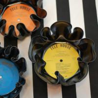 DIY Vinyl Record Bowls | From Stars for Streetlights