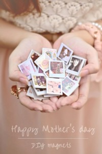 DIY photo magnets | From Sundaesins