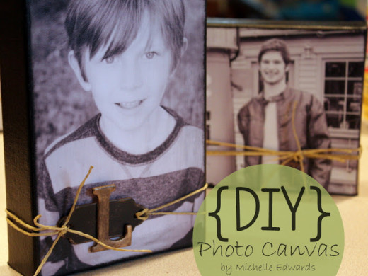 DIY Photo Canvas – Great Gift For Mother's Day | Sweet Something Designs