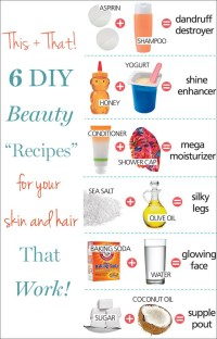 6 Genius DIY Beauty Solutions