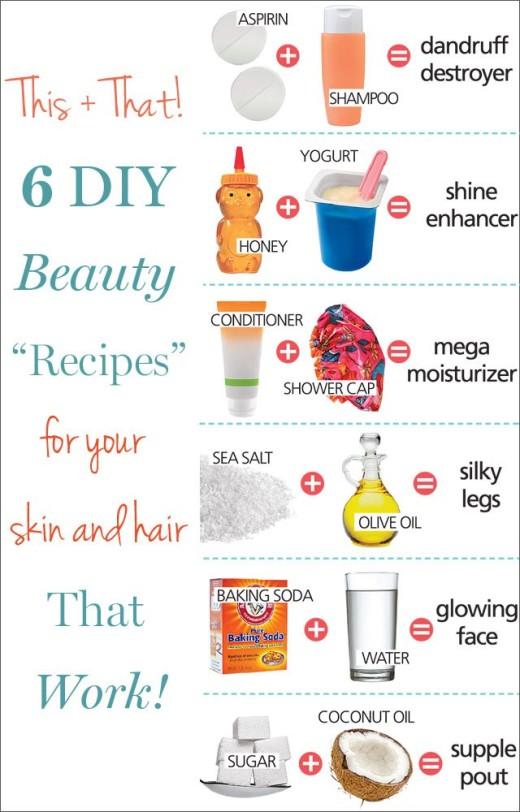6 Genius DIY Beauty Solutions