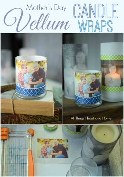 Vellum Candle Wraps – All Things Heart and Home