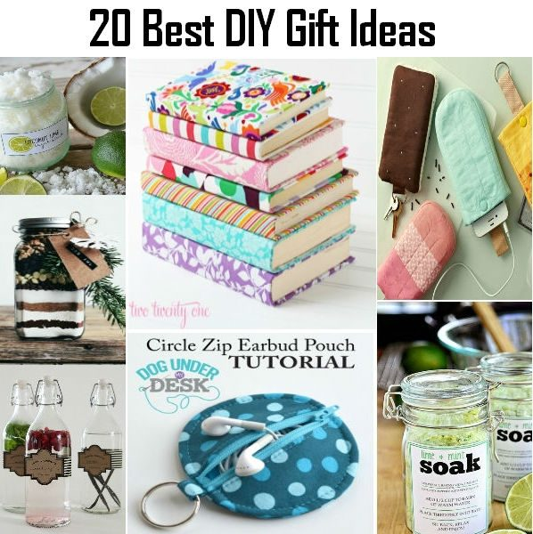 20 best diy gift ideas diy crafts