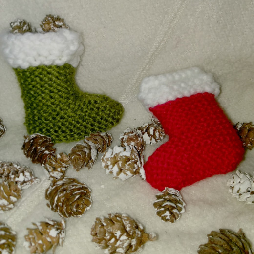 DIY (mini) Christmas stocking – The { French } Shop Around The Co ...