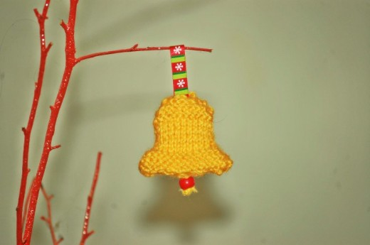 #KnittingForBeginners Jingle Bell !!! – The { French } Shop Around The Corner