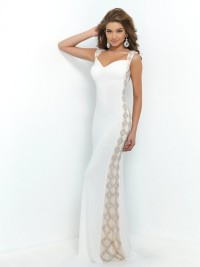 Sheath Sweetheart Sleeveless Beading Floor-length Chiffon Dress For Formal