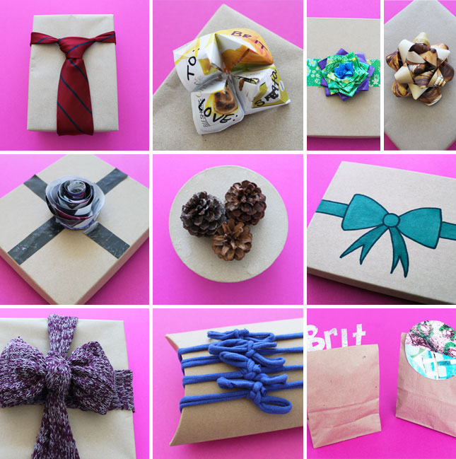 decoration craft ideas put a bow on it 10 unconventional gift toppers diy amp crafts 1843